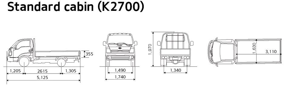 All New Kia K2700  U2013 Northwest Limited