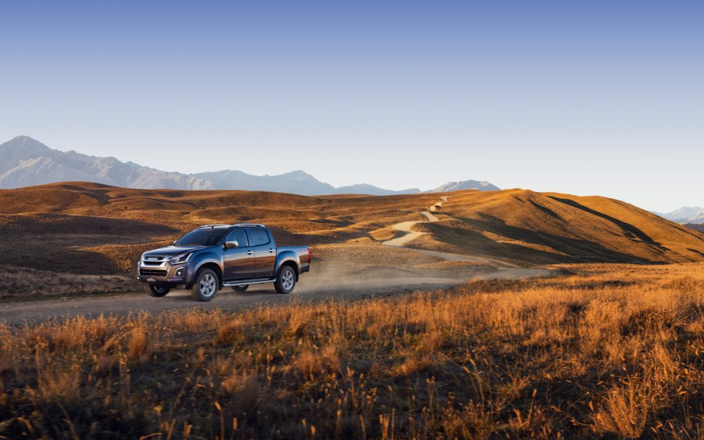 Introducing the new and improved ISUZU D-MAX, combining energetic sports styling and ISUZU engineering innovation with a fresh new design.